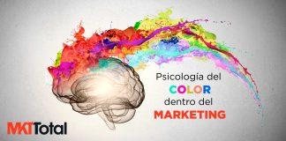 Psicologia del color dentro del marketing