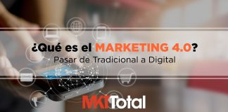 Marketing 4.0 pasar de tradicional a digital