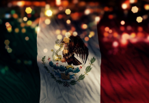 bandera mexico sismo